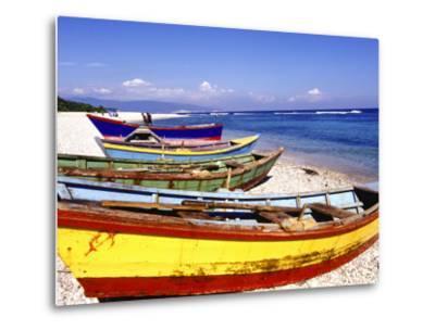 Fishing Boats on Beach