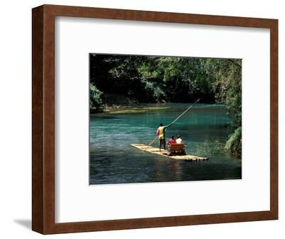 Rafting on the Martha Brae River, Jamaica, Caribbean