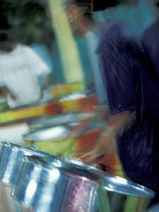 Steel Drums, Port of Spain, Trinidad, Caribbean by Greg Johnston