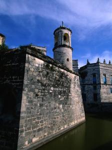 The Old Walled Fortress City of Old Havana, Havana, Cuba by Greg Johnston