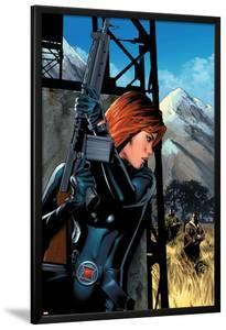 Black Widow No.5 Cover: Black Widow by Greg Land