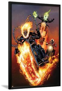 Ghost Riders: Heavens on Fire No.5 Cover: Ghost Rider by Greg Land