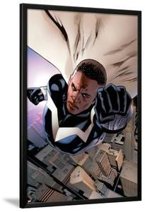 Mighty Avengers #3 Cover: Blue Marvel by Greg Land