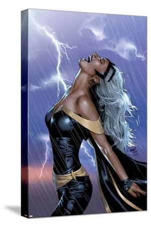Uncanny X-Men No.449 Cover: Storm Swinging