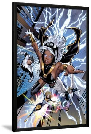 Uncanny X-Men No.531: Storm, Northstar, Angel, Dazzler, and Pixie Flying
