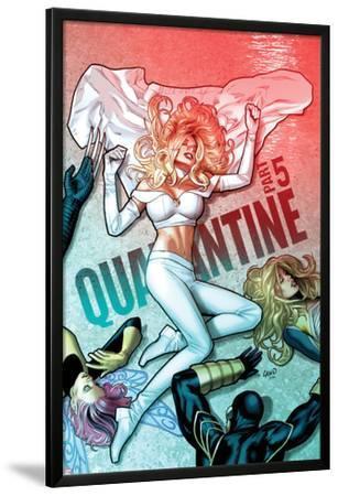 Uncanny X-Men No.534 Cover: Emma Frost has Fallen