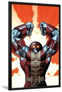 Uncanny X-Men No.543 Cover: Colossus Smashing by Greg Land