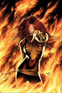 X-Men: Phoenix - Endsong No.1 Cover: Phoenix, Grey and Jean by Greg Land