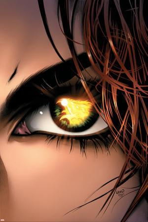 X-Men: Phoenix - Endsong No.5 Cover: Phoenix, Grey and Jean