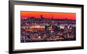 Oakland SF Twilight by Greg Linhares
