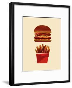 Burger and Fries by Greg Mably