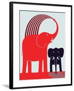 Red Elephant by Greg Mably