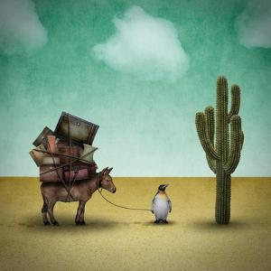 Mr. Penguin Goes on Holiday by Greg Noblin