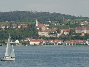 Sailboat on Lake of Constance Near Meersburg, Germany by Greg
