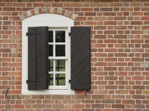 Window and Shutter of Historic Colonial Williamsburg Home by Greg