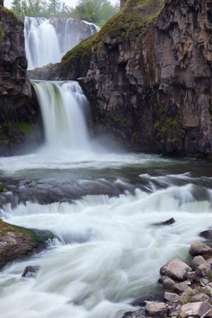 A Long Time Exposure Of White River Falls A Powerful Multi-Tiered Waterfall by Greg Winston