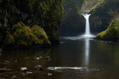 Punchbowl Falls in the Columbia River Gorge National Scenic Area by Greg Winston