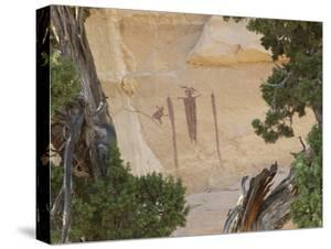 The Head of Sinbad Pictograph by Greg Winston