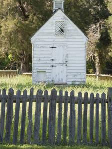 Wood Building and Fence at Historic George Washington Birthplace by Greg