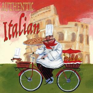Bike Chef Colosseum Olive by Gregg DeGroat