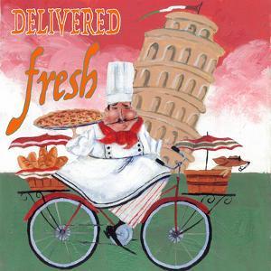 Bike Chef Pisa Green by Gregg DeGroat