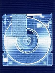 Floppy Disk by Gregor Schuster