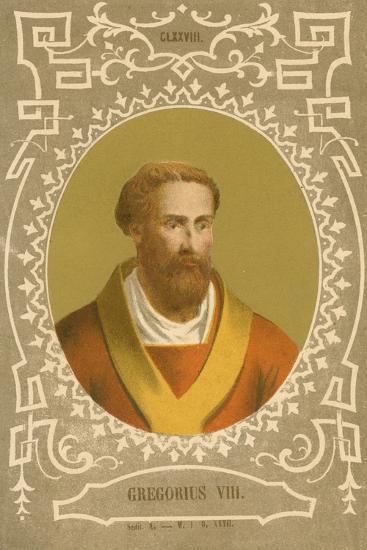 Gregorius VIII-European School-Giclee Print