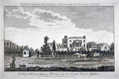 Gregory Bateman's Residence on Green Street in Kentish Town, London, 1792--Giclee Print