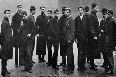 Army Raw Recruits, 1895
