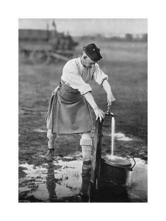 Camp Like, Getting Water, 1896