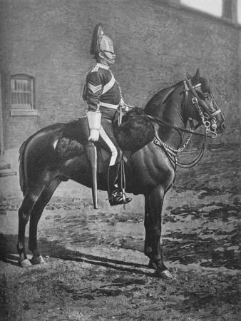 'Sergeant, 2nd Dragoon Guards (Queen's Bays)', c1880