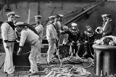 The Diver on Board Ship, 1896