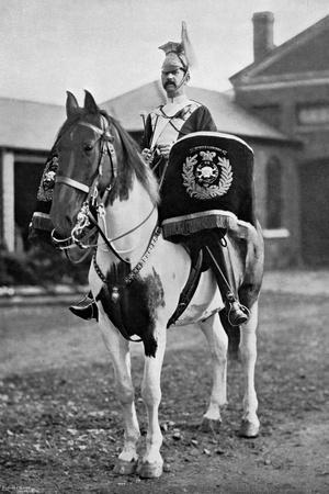 The Drum Horse of the 17th Lancers, 1896