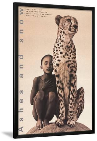 Child with Cheetah, Santa Monica