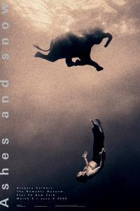 Gregory Swimming with Elephant, New York by Gregory Colbert