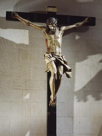 Spain, Valladolid, Preserved in College of Santa Cruz, Christ Light, Wooden Cross