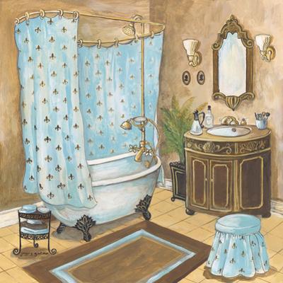 Bain de Cru II - Blue by Gregory Gorham