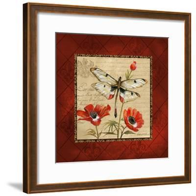 Dragonfly & Poppies