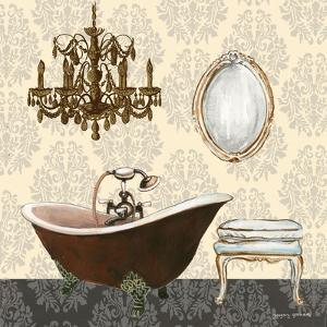 French Bath Motif II by Gregory Gorham