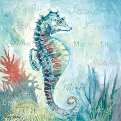 Marine Life Motif I by Gregory Gorham
