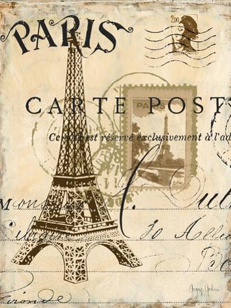 Paris Collage I - Eiffel Tower