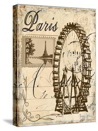 Paris Collage III - Ferris Wheel