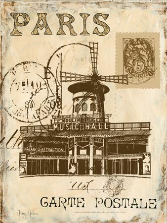 Paris Collage IV - Moulin Rouge