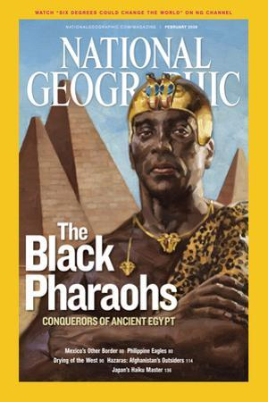 Cover of the February, 2008 National Geographic Magazine by Gregory Manchess