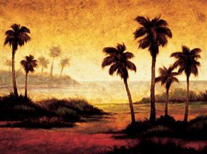 Sunset Palms II by Gregory Williams