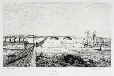 Grenelle, Siege of Paris, 1870-1871-Paul Roux-Giclee Print
