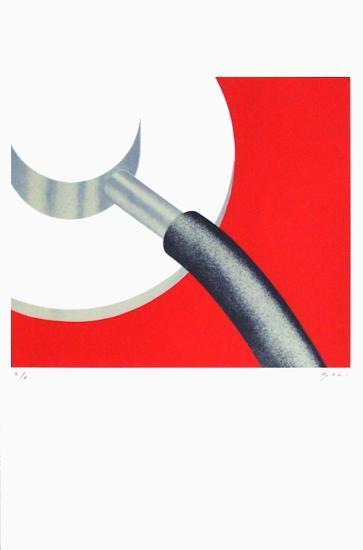 Grenoble - M?decine-Alberto Bali-Serigraph
