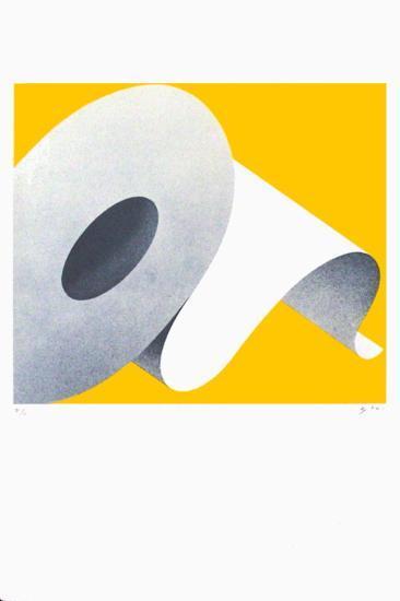 Grenoble - Papier-Alberto Bali-Serigraph