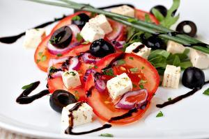 Vegetable Salad with Feta Cheese by Gresei