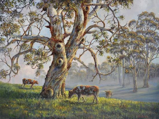Gresford Gum 2-John Bradley-Giclee Print
